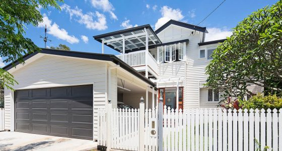 Placemate Mitchelton front of home - Queenslander Renovation Architecture