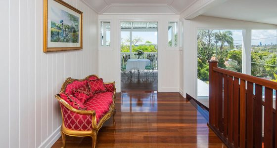 Interior of Queenslander renovation project by Placemate