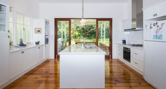 Kitchen renovation by Placemate Architects Brisbane